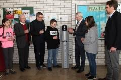 Einweihung des Wasserspenders 2018